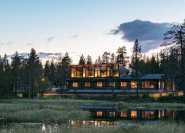 Javri Lodge Finnland