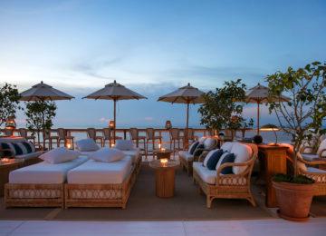 Jumeirah Capri Palace Il Riccio Evening Outdoor Seating