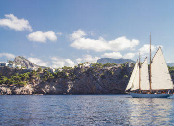 Jumeirah Port Soller Hotel and Spa – view from sea