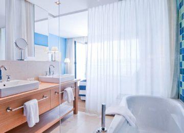 Junior Suite Parkblick – Badezimmer©Falkensteiner Hotel & Spa Iadera, Punta Skala