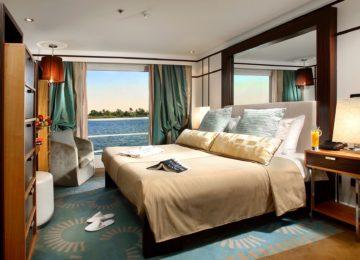 Egypt; Nile River; Sanctuary Sun Boat IV; Standard Cabin