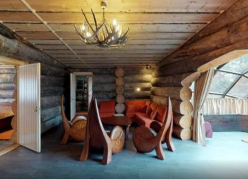 Kakslauttanen Arctic Resort Finnland© Luxus Kelo Glas_Iglu
