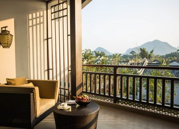 Karst Discovery Suite- View © Banyan Tree Yangshuo