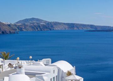 Terrasse Mit Meerblick ©Katikies Santorini