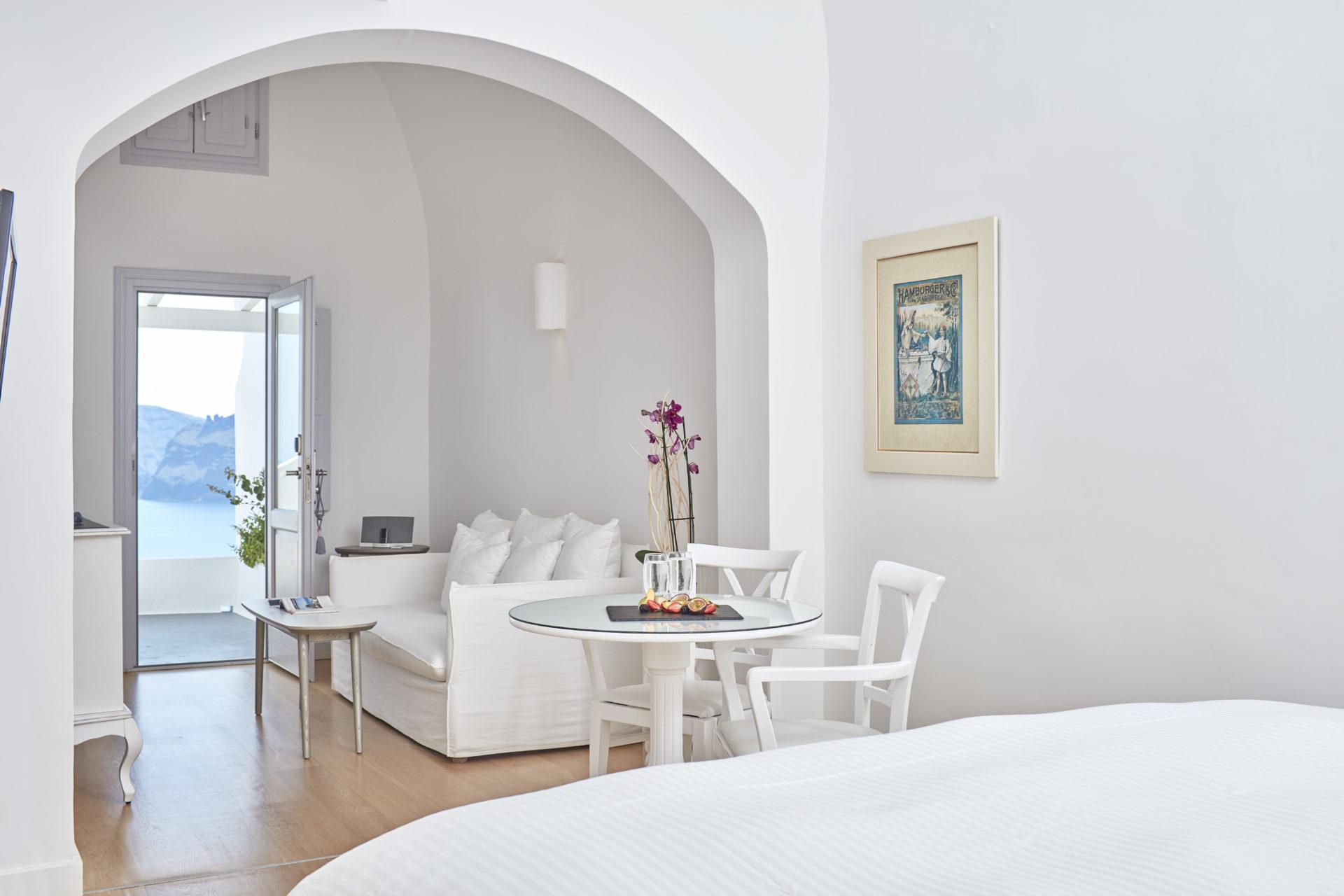 Luxus Suite ©Katikies Santorini