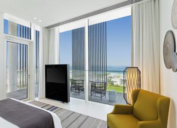 Kohinoor Suite_Bedroom _The Oberoi Beach Resort Al Zorah Ajman