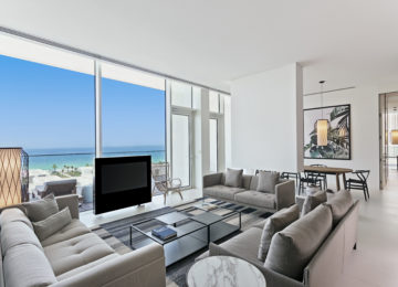 Kohinoor Suite_Living _The Oberoi Beach Resort Al Zorah Ajman