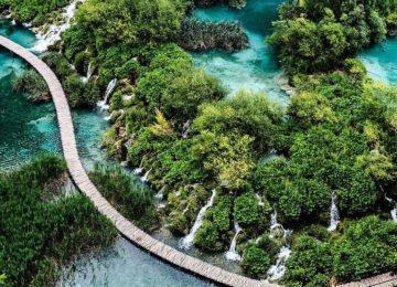 Kroatien© Wasserfall Nationalpark Natur Plitvice Seen