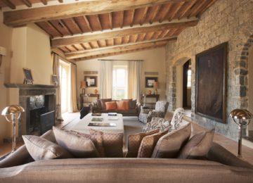Living Area©Rosewood Castiglion del Bosco