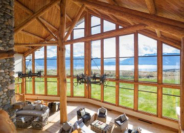 Lobby © Fiordland Lodge