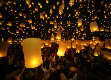 Loi Krathong Chiang Mai © Thailändisches Fremdenverkehrsamt Kopie