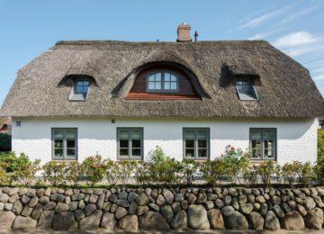 Luxusferienhaus Sylt Reetdach©LeuchtTurmSeele