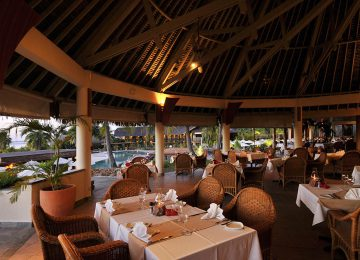 MOZ Intercontinental Moorea Restaurant