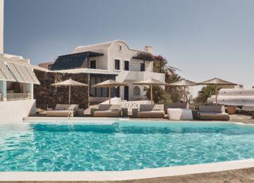 Hauptpool©Vedema, a Luxury Collection Resort, Santorin