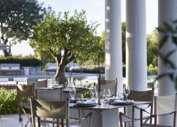 Hotel Amanzoe©Main Pool Restaurant Terrace