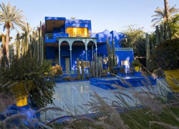 Majorelle Garten ©Fremdenverkehrsamt Marokko