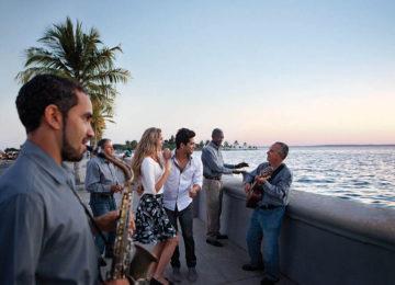 Malecon Abendstimung Cienfuegos © Cubanisches FVA Deutschland
