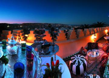 Marokkanisches Teegedeck©Fremdenverkehrsamt Marokko