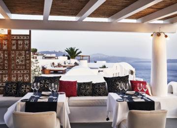 Restaurant ©Katikies Santorini