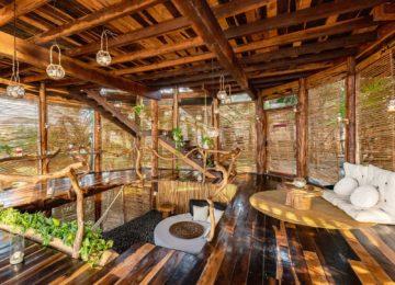 Moon Villa Wohnbereich©Azulik Resort, Tulum
