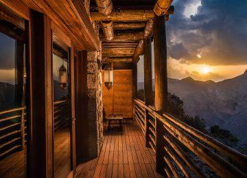 Mountain View Balcony ©Alila Jabal Akhdar