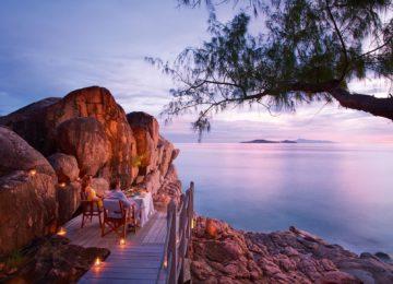 Nest Restaurant und Bar, Constance Lemuria Resort Praslin, Seychellen