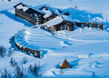 Niehku Mountain Villa Winter © Niehku Mountain Villa