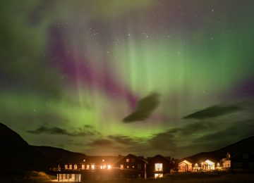 Northern Lights at Deplar © Deplar Farm Eleven