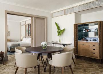 Wohnzimmer der Suite ©One&Only Le Saint Géran