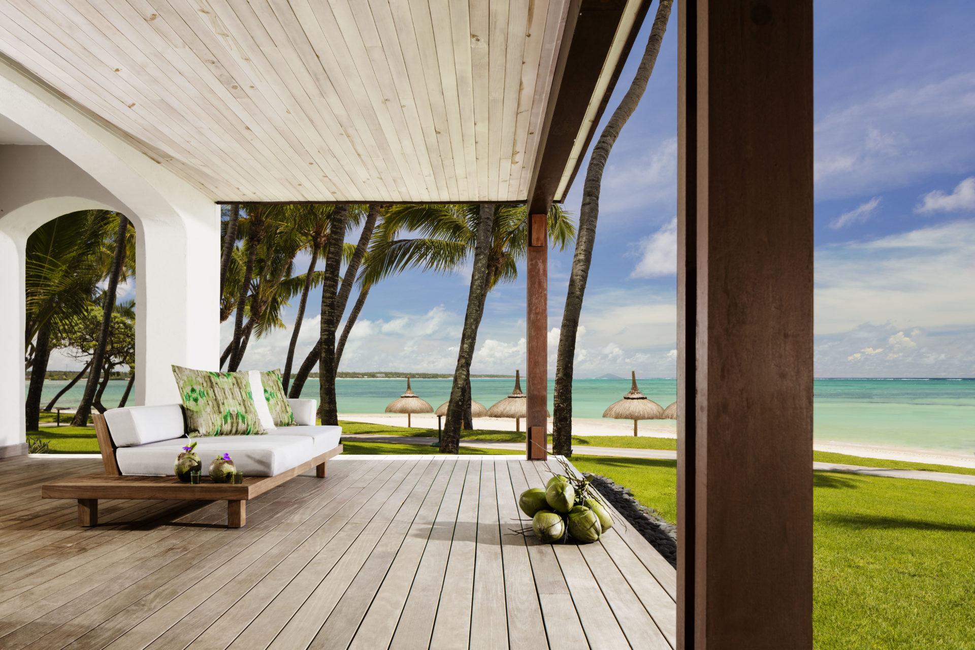 Ozean Suite Terrasse ©One&Only Le Saint Géran