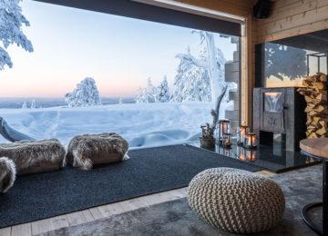 Octola Wilderness Private Lodge Finnland Lappland Polarkreis