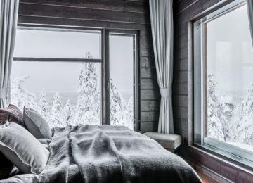 Octola Zimmer Wilderness Private Lodge Finnland Lappland