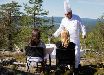 Octola Lodge Private Wilderness Finnland©Dining