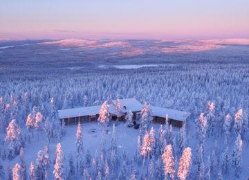 Octola Private Wilderness Finnland Lappland Polarkreis