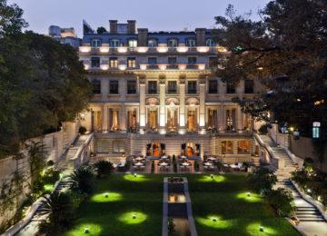 Facade Garden©Palacio Duhau – Park Hyatt Buenos Aires