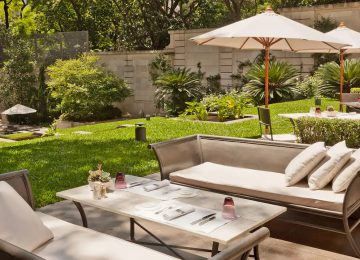 Garten im Palacio Duhau Park Hyatt Buenos Aires Select Luxury Travel