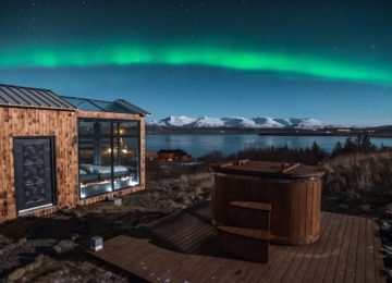 Panorama Glass Lodge©Polarlichter Island