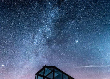 Panorama Glass Lodge Island©Stern am Himmel
