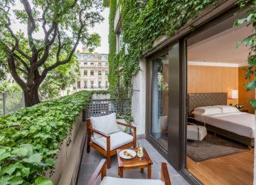 Park Deluxe Balcony© Park Hyatt Buenos Aires
