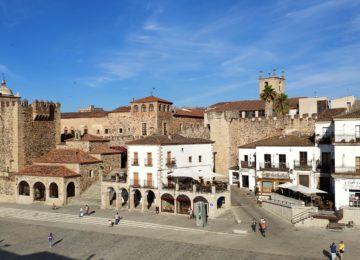 Parte antigua de Cáceres©Extremadura