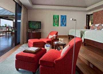 Partial-Ocean-View-Pool-Villa-Twin-Room-Suite©Hotel Raffles Praslin