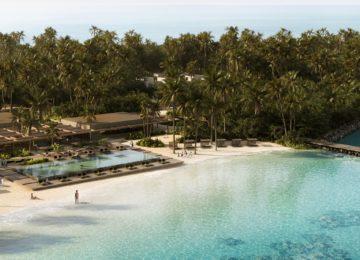 Patina Maldives, Fari Islands – Aerial Shot
