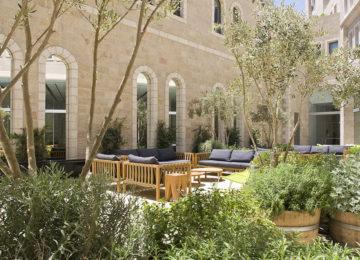 Patio © Mamilla Hotel Jerusalem