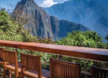 Peru Erste Reihe mit Blick auf Machu Picchu ©Belmond