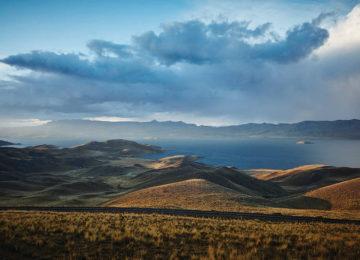 Peru Langunillas Andenlandschaft am Titicacsee ©Belmond