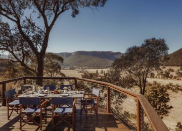 Picnic Deck ©Emirates One&Only Wolgan Valley