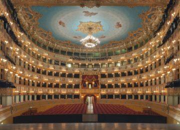 Platea Teatro La Fenice © Bellini Ettore