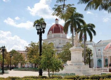Plaza Jose Marti Cienfuegous © Cubanisches FVA Deutschland