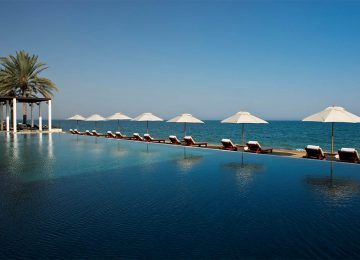 Pool  The Chedi Muscat Hotel Oman Select Luxury Travel