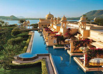 Pool Area © Oberoi Hotel  Udaipur